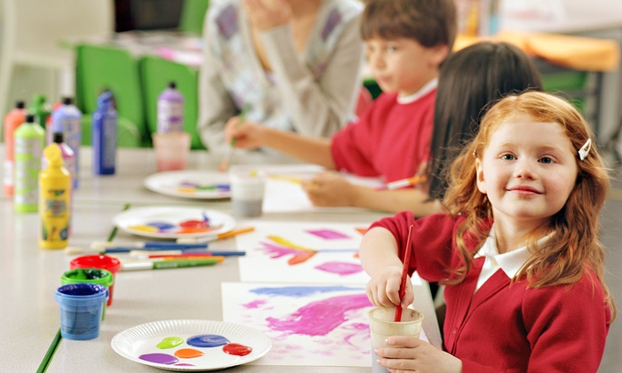ArtCastle School of Art & Clay - Hurst: Admission to Kids' Night Out or a Saturday Art Workshop for Two Kids at ArtCastle ( Off)