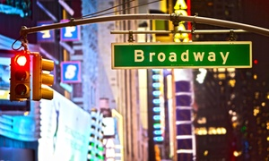 Walkin' Broadway: Guided Walking Tours of the Broadway Theater District for Two, Four, or Six from Walkin' Broadway (Up to 62% Off)