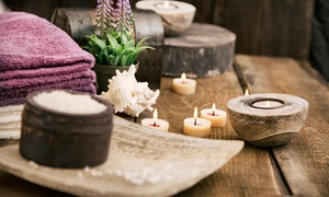 Martel Ladies Salon: Herbal Moroccan Bath with Optional Hair Wash, Foot Treatment and Body Scrub at Martel Ladies Salon (Up to 61% Off)