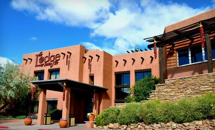Option 1: Anasazi Mini Suite with $25 Dining Credit, Valid in April - The Lodge at Santa Fe in Santa Fe