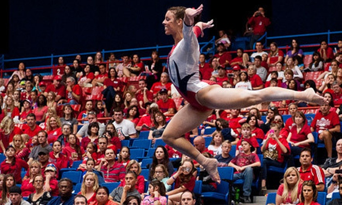 University of Arizona Women's Gymnastics - McKale Memorial Center: $7 for University of Arizona Wildcats Women's Gymnastics Meet at McKale Center on Saturday, March 16 (Up to $16 Value)