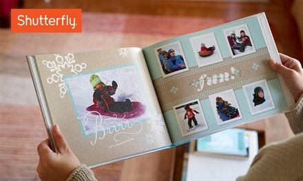 8x8 or 8x11 Custom Photo Book from Shutterfly (Up to 67% Off)
