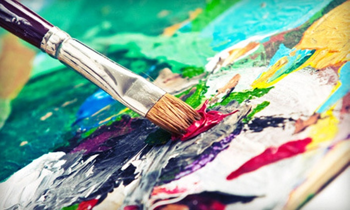 Art with a Twist - Multiple Locations: BYOB Class for One, Two, or Four, or a BYOB Party for Up to 10 at Art with a Twist (Up to 73% Off)