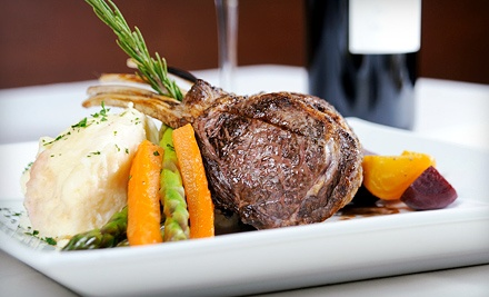 $59 for Four-Course Dinner for Two at The Vintage Steakhouse (Up to $115 Value)