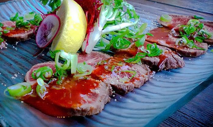 Hapa Izakaya - West End: Modern Japanese Cuisine for Two or Four at Hapa Izakaya (Half Off)