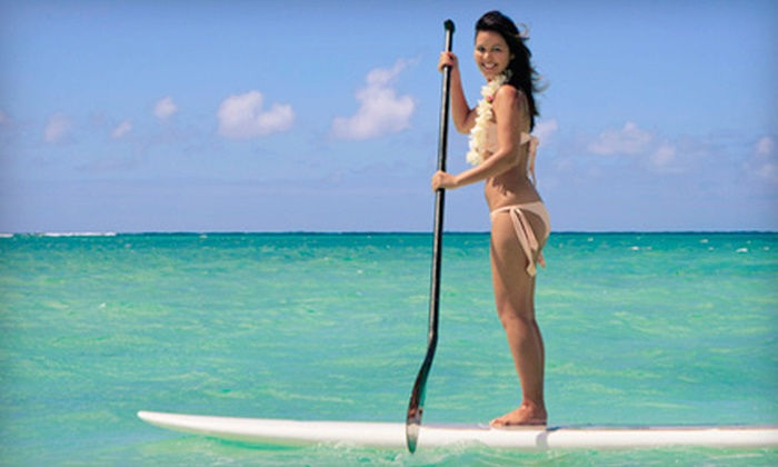 OEX Dive and Kayak - Sunset Beach - Huntington Beach: $45 for a Stand-Up Paddleboarding Lesson for Two at OEX Dive and Kayak – Sunset Beach ($90 Value)