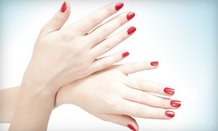 Serenity Spa - Bonita Springs: Classic Mani-Pedi or Gelish Manicure and Classic Pedicure at Serenity Spa (Up to 60% Off)