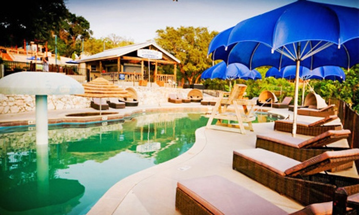 Shore Club Volente Beach Waterpark - Lake Travis: Admission for Two or Four to Adult Night With Concert at Shore Club Volente Beach Waterpark (Up to 52% Off)