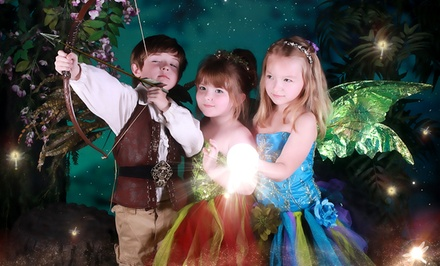 Costumed Photo Shoot for One, Two, or Three Kids with Print at Enchanted Fairies Studio (Up to 90% Off)
