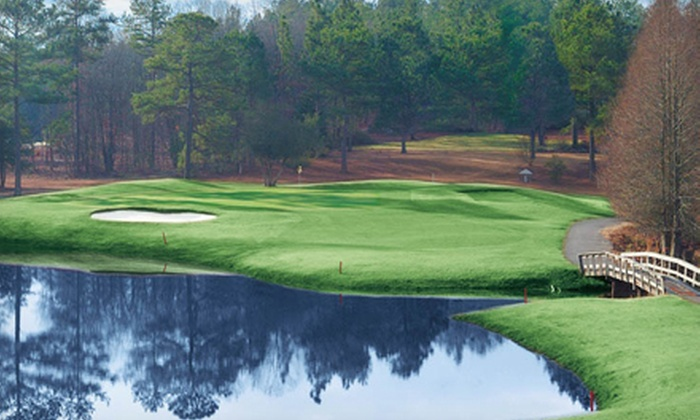 Whispering Woods Golf Club - Whispering Pines: $20 for 18 Holes of Golf and Cart Rental at Whispering Woods Golf Club (Up to $49 Value)