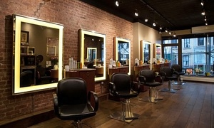 David Groshen Salon NYC: Hair Services at David Groshen Salon NYC (Up to 68% Off). Four Options Available.