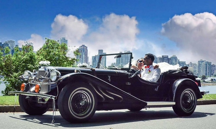 Jassal Photography Studio - Vancouver: Classic Car Photo Session for Two or Four from Jassal Photography Studio (Up to 86% Off)
