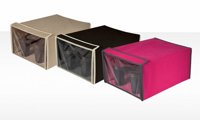 Shoe Storage Box: Shoe Storage Box. Multiple Colors Available. Free Returns.