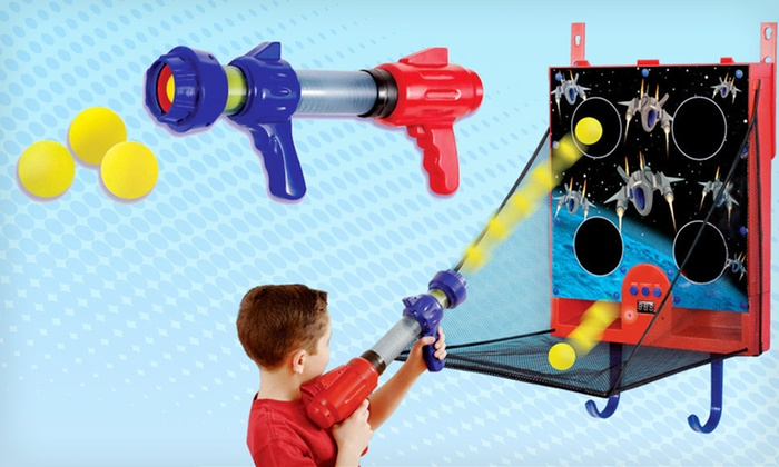 Over the Door Space Ball Blaster Game: $20 for an Over the Door Space Ball Blaster Game ($32.95 List Price). Free Shipping.