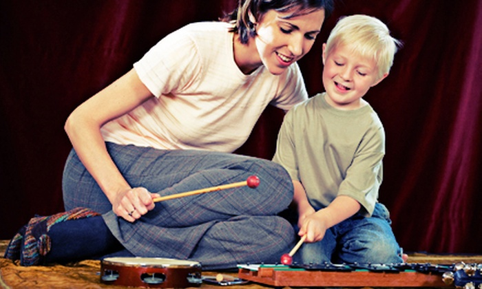 Kindermusik by Love and Grow Music Studio - Multiple Locations: Two, Three, or Five Music Classes for a Parent and Child at Kindermusik by Love and Grow Music Studio (Up to 67% Off)