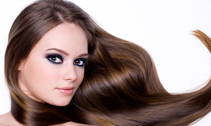 Irene at XOXO Salon - XOXO Salon: One or Two Brazilian Blowout Keratin Treatments from Irene at XOXO Salon (Up to 79% Off)