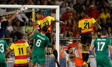 $28 for a Fort Lauderdale Strikers Soccer Match for Two at Lockhart Stadium on Saturday, September 20 ($50 Value)