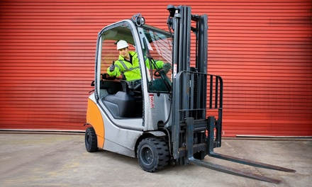 $99 Forklift-Training Course for Three-Year License at Olympic Career Training Institute ($198 Value)