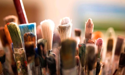 Two- or Three-Hour Painting Class for Two or Four at Pinot's Palette - Tustin (50% Off)