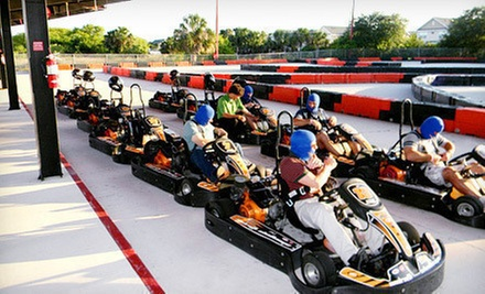 Amusement Park Visit Andretti Thrill Park Groupon