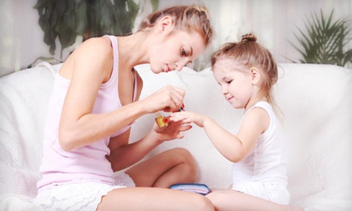 Pamper Nails - Shawnee: $27 for Mother-Daughter Princess Pedicure at Pamper Nails ($57 Value)