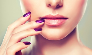 Euphoria Hair & Beauty: Luxury Manicure or Pedicure (£9) or Both (£16) at Euphoria (Up to 56% Off)