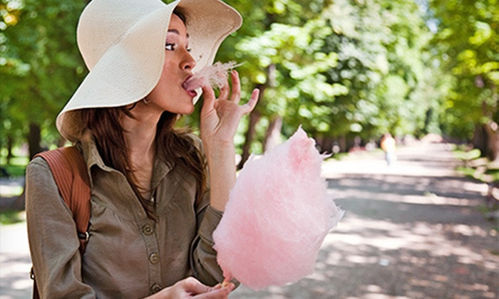 Buttercups Cupcakes - Springlake, University Terrace: $18 for One Dozen Sticks of Cotton Candy at Buttercups Cupcakes ($36 Value)