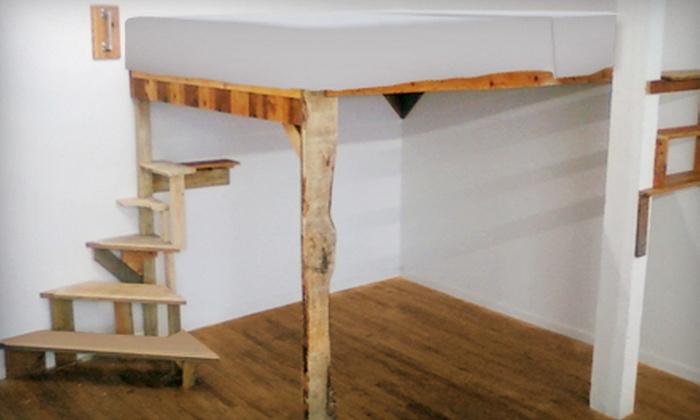 Zen Carpentry - New York City: $1,250 for a Custom Loft Bed from Zen Carpentry ($2,500 Value)