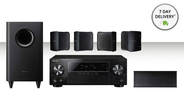 pioneer 5 1 speakers. pioneer 5.1-channel home-theater system: 5 1 speakers