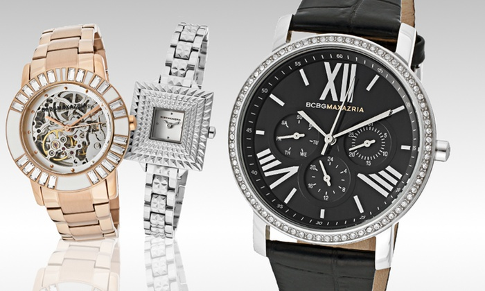 BCBG Women's Watches: BCBG Women's Watches (Up to 68% Off). Nine Options Available. Free Shipping and Free Returns.