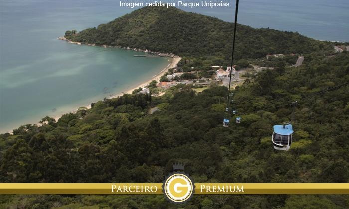 Parque Unipraias - Balneário Camboriú: Parque Unipraias – Balneário Camboriú: ingresso para os bondinhos aéreos (opção com Youhooo!) a partir de R$ 29,90