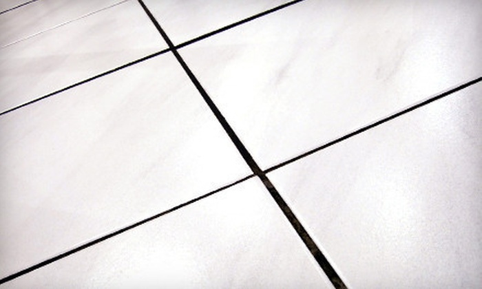 C4 Carpet Care - Ocala: Tile and Grout Cleaning for Two, Three, or Four Rooms or Grout-Sealing Services from C4 Carpet Care (Up to 75% Off)