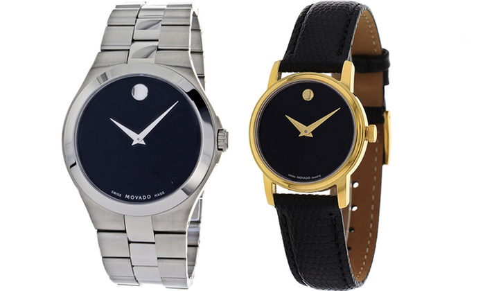 Movado Classic Men's and Women's Watches: Movado Classic Men's and Women's Watches.
