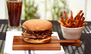Capp's BBQ: Three Groupons, Valid for $10 Worth of Lunch, or Barbecue Dinners at Capp's BBQ (Up to 50% Off)
