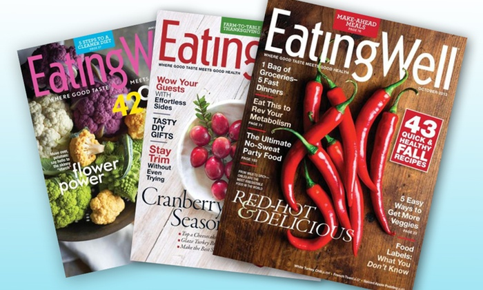 1- or 2-Year Subscription to EatingWell: 1-Year, 6-Issue or 2-Year, 12-Issue Subscription to EatingWell from $8–$16
