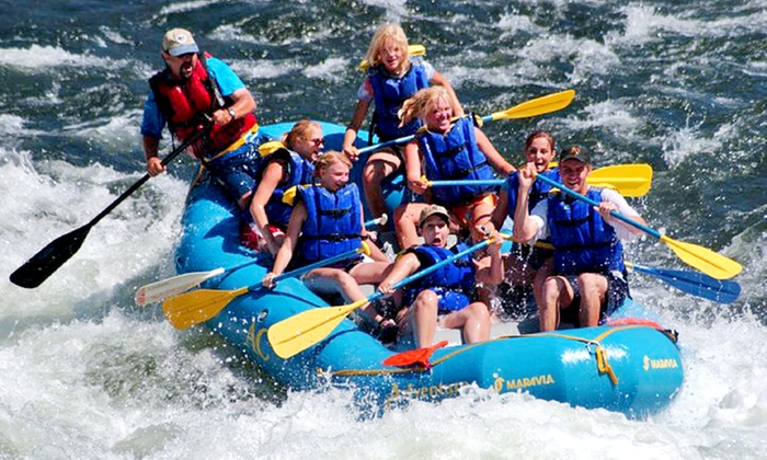Adventure Connection - Coloma: One-Day Rafting Trip with Lunch or Two-Day Rafting Trip w/ Wine Tasting from Adventure Connection (Up to 51% Off)
