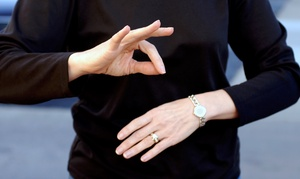 Love 2 ASL: Four or Eight Beginner Sign-Language Classes at Love 2 ASL (Up to 57% Off)