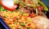 Cantinflas - Downtown: Mexican Cuisine at Cantinflas Restaurant & Bar (50% Off). Two Options Available.