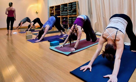 Yoga and Massage at The Mindful Body (Up to 40% Off). Two Options Available.