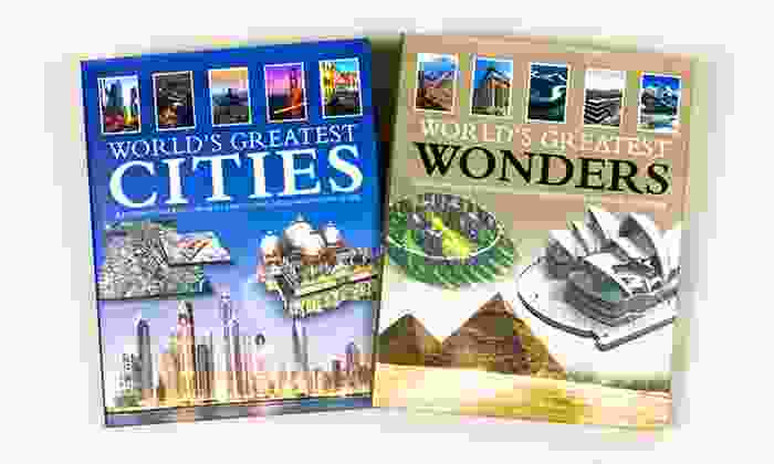 World's Greatest Wonders and World's Greatest Cities Book Bundle: World's Greatest Wonders and World's Greatest Cities Book Bundle
