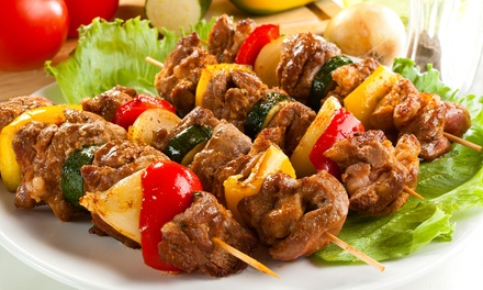 Turkish Cuisine at Saray Restaurant (43% Off). Two Options Available.