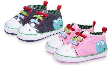 baby canvas tennis shoes groupon goods