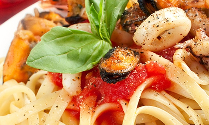 Piazza Margherita - Lyndhurst: Three-Course Italian Dinner for Two or Four at Piazza Margherita (Up to 51% Off)