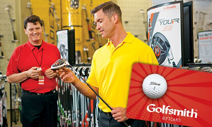 Golfsmith - Multiple Locations: $25 for a $50 Gift Card at Golfsmith