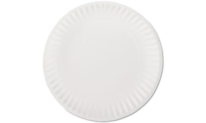 AJM Packaging Corporation White Paper Plates: AJM Packaging Corporation White Paper Plates; 1000ct. Free Returns.