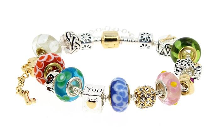 bracelet perle groupon
