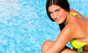 The Golden Girlz: Four Airbrush Tanning Sessions at The Golden Girlz (49% Off)