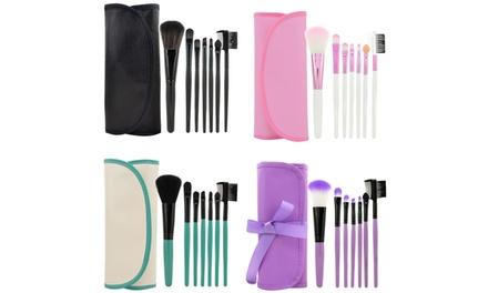 LaRoc SevenPiece MakeUp Brush Set