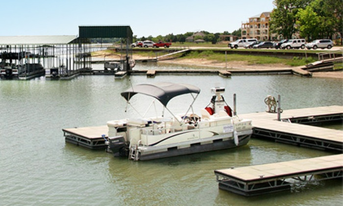 Harbor Inn Marina - Corsicana: Two-, Four-, or Eight-Hour Pontoon-Boat Rental for Up to Six People at Harbor Inn Marina (Up to 54% Off)