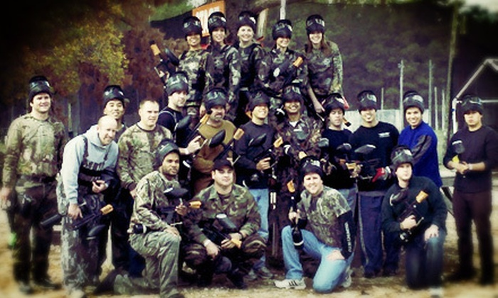 TxR Paintball - Northwest Harris: Paintball Admission, Gear, and 100 Paintballs Each for 2, 4, or 10 at TxR Paintball (Up to 78% Off)